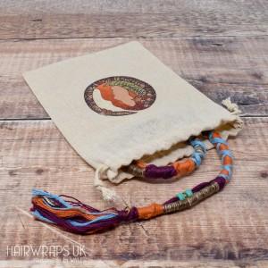 Cotton Hair Wrap Storage Bags