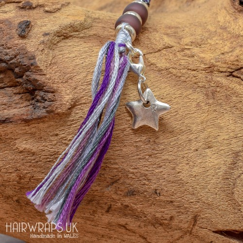 Tibetan Silver Star Charm.