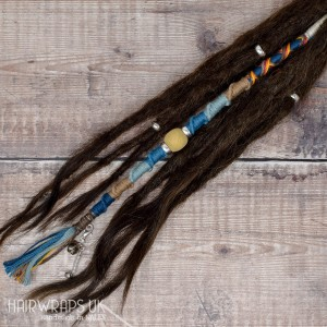 Chunky Dreadlock Wrap, Accent Loc, Cotton Hair Wrap for Dreads or natural hair – Daybreak.